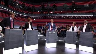 «Arena»: Schweiz und EU – wie weiter nach dem Brexit?
