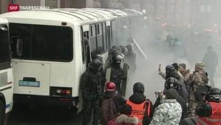 Ukrainischer Präsident Janukowitsch will verhandeln