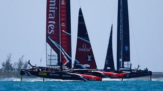 America's Cup: Team New Zealand baut Führung aus