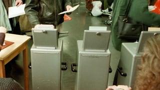 Abstimmungen und Wahlen in Kantonen und Gemeinden