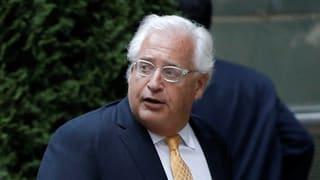 Vorwürfe an den neuen US-Botschafter in Israel
