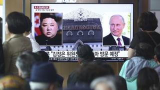 Putin wird Kim am Donnerstag treffen
