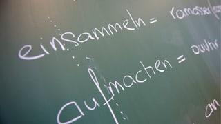 Kantone wehren sich im Sprachenstreit