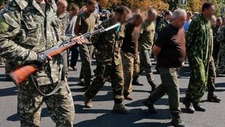 Separatistische Gegen-Parade in Donezk