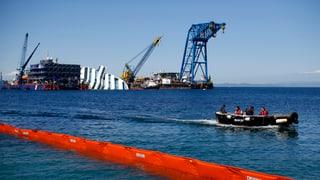 Die kostspielige Bergung der «Costa Concordia»