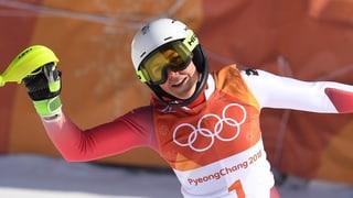 Holdener gewinnt Olympia-Silber