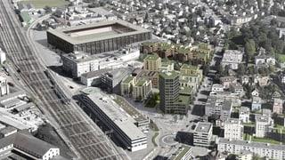 Aarau: Strassenbau-Kredite im Torfeld Süd genehmigt