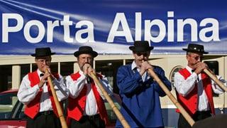 Warum gibt es keine «Porta Alpina»?