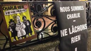 Solidarität für «Charlie Hebdo» in Zürich