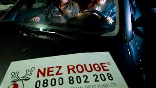 Nez Rouge Aargau hat an Silvester gut 500 Personen transportiert