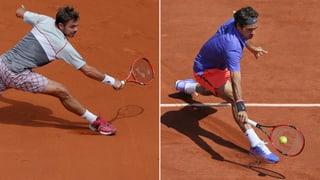Federer und Wawrinka siegen im Gleichschritt