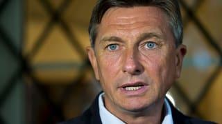 Präsident Pahor muss in die Stichwahl