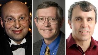 Chemie-Nobelpreis geht an einen Deutschen und zwei Amerikaner
