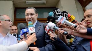 Strafuntersuchung gegen rumänischen Regierungschef