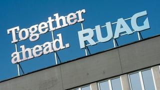 Ruag ist anfällig für Korruption