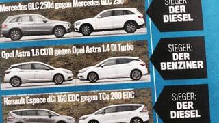 Diesel vs. Benziner: Welche Modelle weniger Kraftstoff brauchen