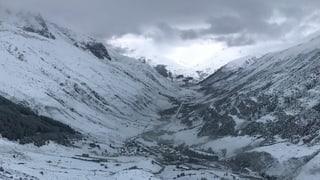 Bis 50 Zentimeter Neuschnee in den Bergen