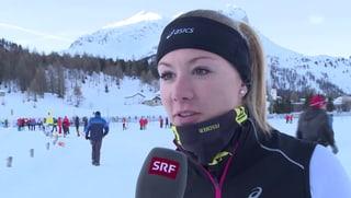 Ariella Kaeslin flitzt der «g&g»-Kamera davon
