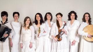 Lettische Zaubersprüche beim Festival Alpentöne