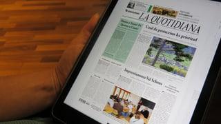 Das Fortbestehen der rätoromanische Zeitung soll bis 2018 gesichert sein