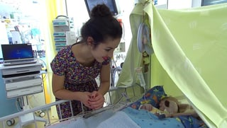 Lauriane Sallin im Spital: «Er ist so klein, so ruhig, so schön»