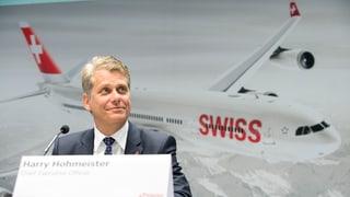 Swiss-Chef Harry Hohmeister fliegt weiter