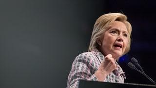 Hillary Clinton uffizialmain candidata