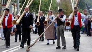 Aarau als «Festhütte»: In einem Jahr ist Volksmusikfest