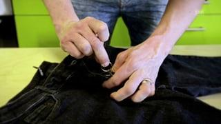 Neuer Lifehack von Sven: Jeans-Reissverschluss fixieren