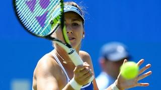 So zog Belinda Bencic in die Halbfinals von Eastbourne ein