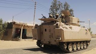 Ägyptische Armee macht Jagd auf Dschihadisten
