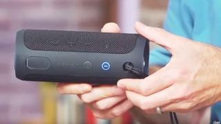 Bluetooth-Lautsprecher: Energiehungrig, aber spritzwasserfest