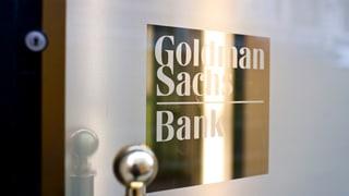 Chinesische Bank heisst «Goldman Sachs» – rein zufällig