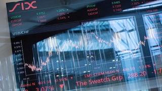 Schweizer Börse: Unsicherheit, aber kaum Panik