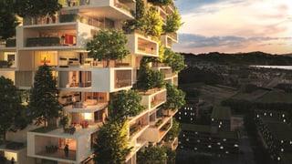 Grüne Hochhäuser? Gibt es auch in der Schweiz: Fünf spektakuläre Projekte