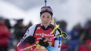 Traum vom Podest für Biathlon-Staffel geplatzt (Artikel enthält Video)