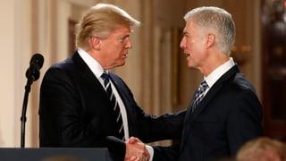 Trump schlägt stramm konservativen Neil Gorsuch vor