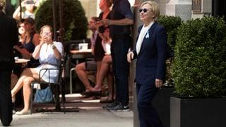 Keine Zeit für krank: Clinton kündigt Comeback an