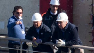 Schettino zurück an Bord der «Costa Concordia»