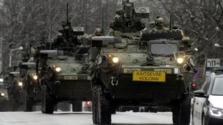 Die US-Armee auf «PR-Fahrt» durchs Baltikum und Osteuropa