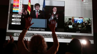 Kataloniens Separatisten halten absolute Mehrheit im Parlament