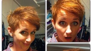 Steffi Buchli sieht rot – im Spiegel