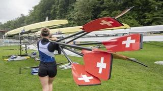 Start zur Ruder-Europameisterschaft auf dem «Göttersee»