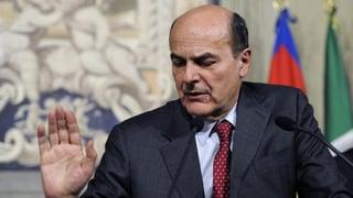 Mission Impossible? Bersani soll Regierung bilden