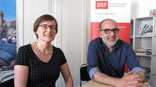 Katrin Bernath und Diego Faccani im Streitgespräch