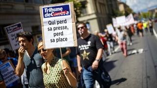 Mediation statt Streik bei Tamedia
