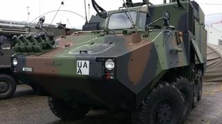 Publikumsmagnet Expo zur Militärübung «Conex15»