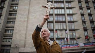 Ukrainische Führung ruft zum Dialog auf