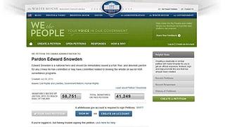 Online-Petition: «Edward Snowden ist ein nationaler Held»