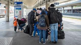 Fast 40'000 Asylgesuche im Jahr 2015